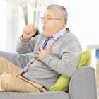 Acute bronchitis: piepende ademhaling en benauwdheid