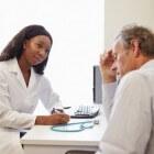 Abces in huid of lichaam: met pus gevulde zwelling in holte