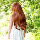Mooie, glanzende haren door een gezonde voeding