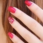 Mooie nagels door kunstnagels en nagellak