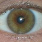 Hazel ogen: steeds een andere kleur!