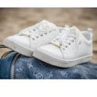 Witte schoenen beschermen en schoonmaken