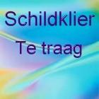 Schildklier - Te trage werking (hypothyreoïdie)