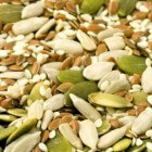 Snacks van zaadjes en pitjes
