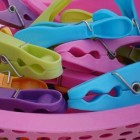 Babykleertjes wassen, drogen en strijken