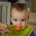 Baby's eerste vaste hapjes; frisse fruitrecepten