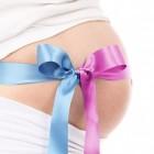 Vruchtwaterpunctie (amniocentese) bij zwangere vrouw