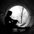 Eetstoornis: volwassen succesvolle vrouw met anorexia