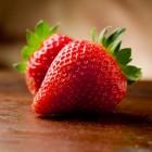 Afvallen met aardbeien