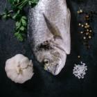 Zwanger en vis eten
