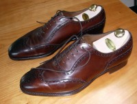 full-brogue / Bron: ASuitableWardrobe, Wikimedia Commons (CC BY-3.0)