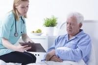 verschijnselen uitdroging bij ouderen