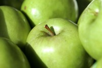 Granny smith-appel / Bron: Fir0002, Wikimedia Commons (GFDL-1.2)